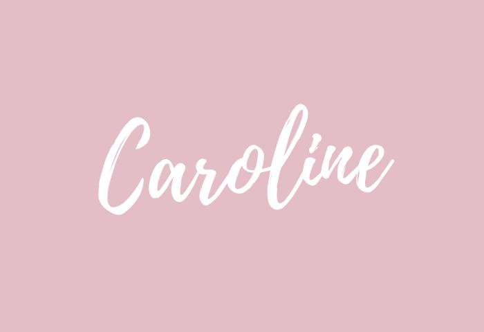 caroline name meaning