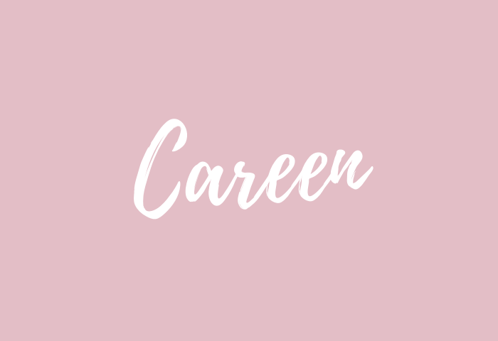 careen name meaning