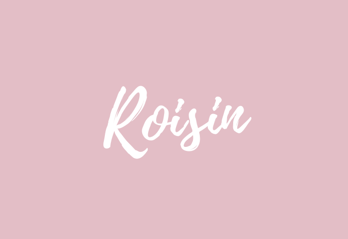 Roisin name meaning