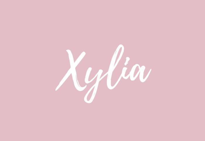 xylia name meaning