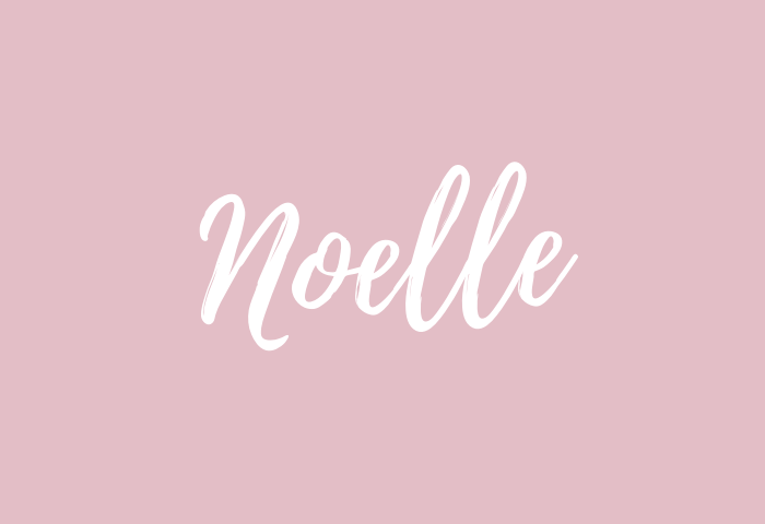 noelle name meaning