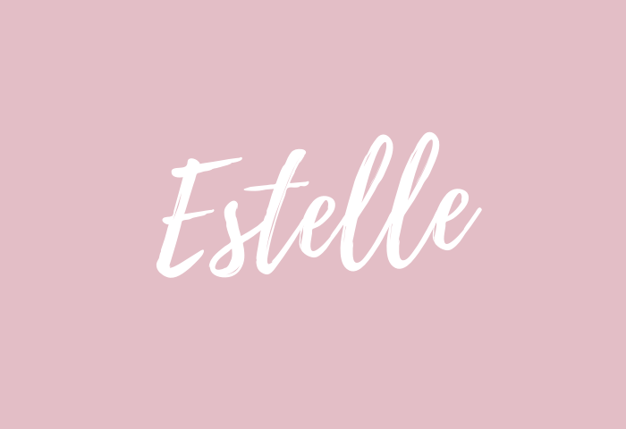 estelle name meaning