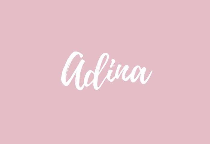 adina name meaning