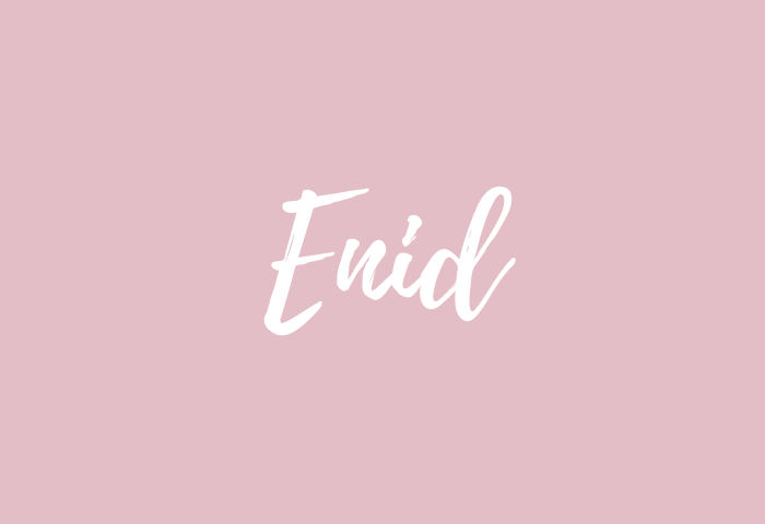 enid name meaning