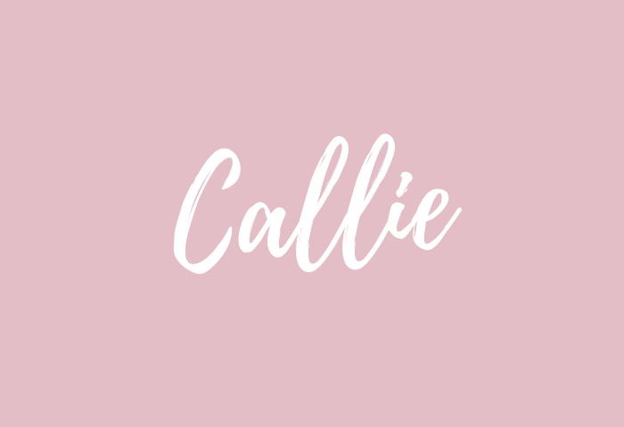 callie name meaning