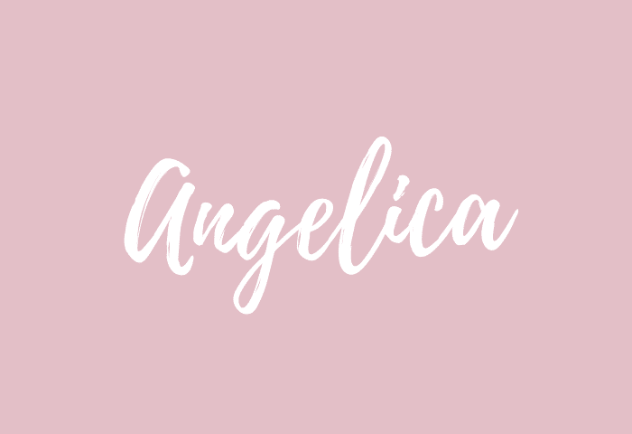 angelica name meaning