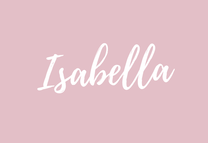 isabella name meaning