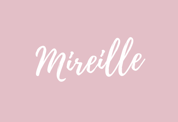 mireille name meaning