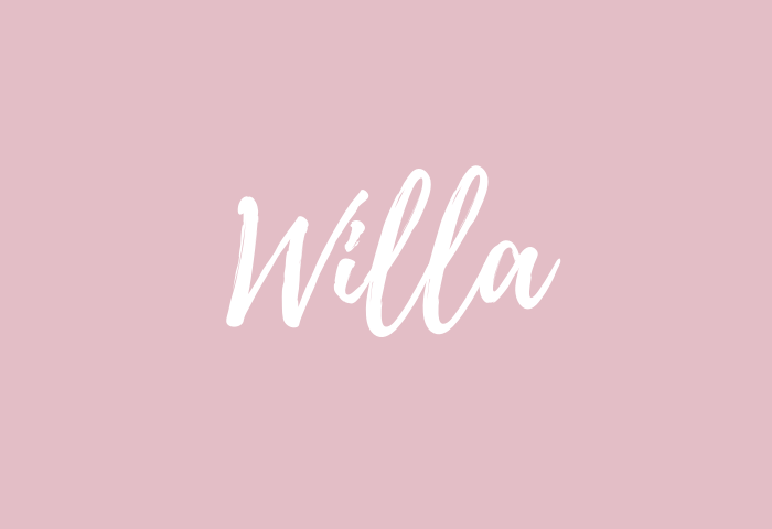 willa name meaning
