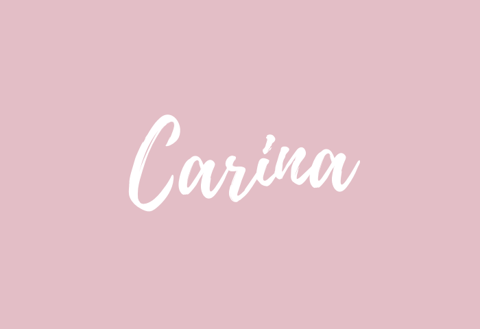 Carina name meaning