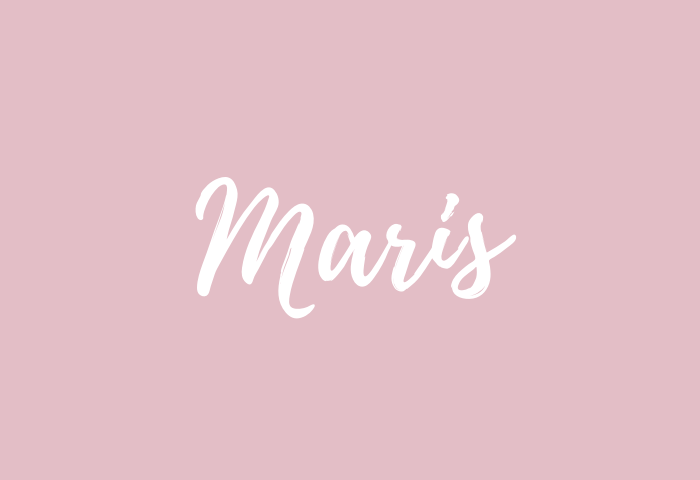 maris name meaning