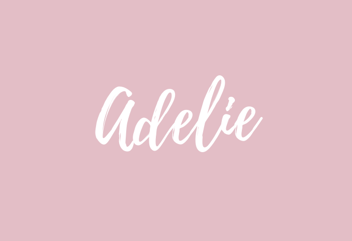 adelie name meaning