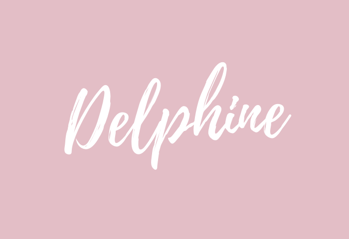 Delphine Name Meaning