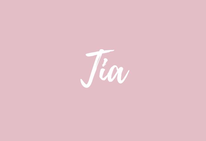 Tia name meaning