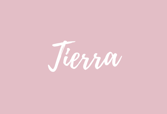 tierra name meaning