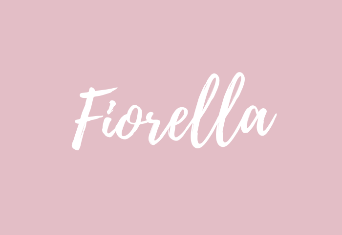 Fiorella name meaning