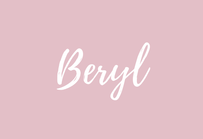 Beryl name meaning