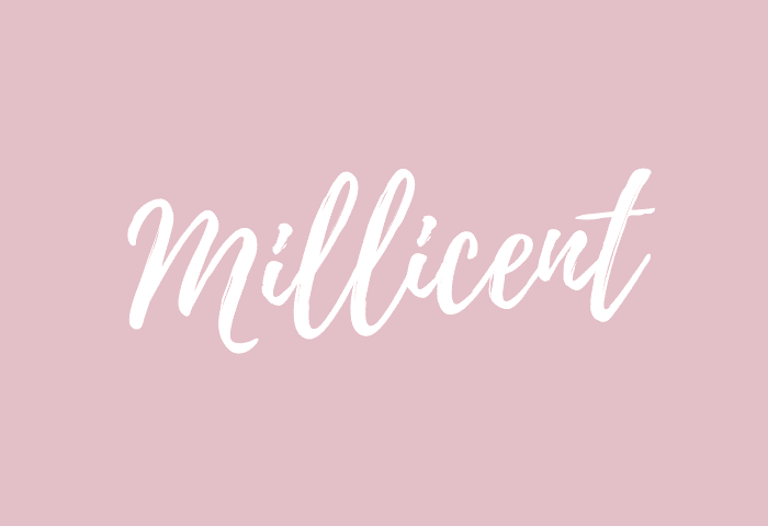 Millicent name meaning