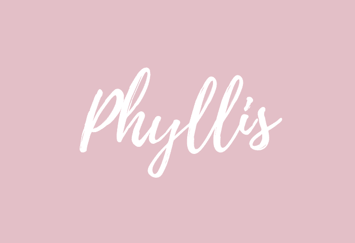 Phyllis name meaning