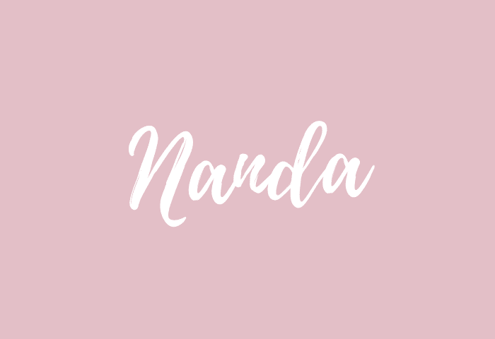 Nanda name meaning
