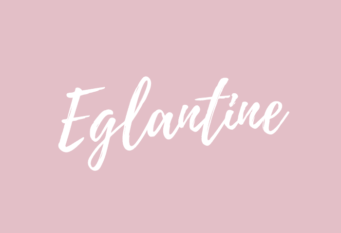 eglantine name meaning