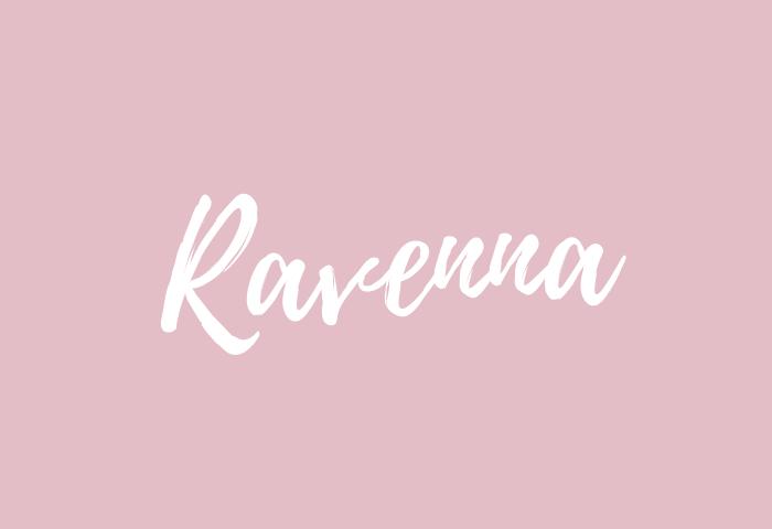 ravenna name meaning