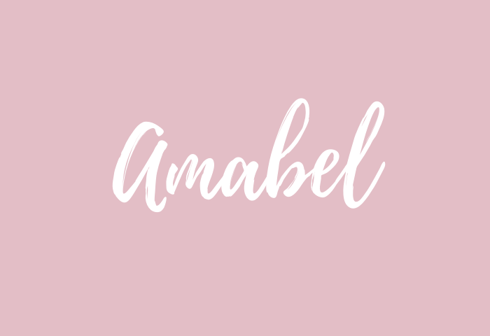 amabel name meaning