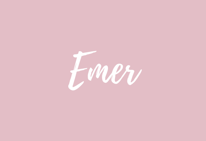 emer name meaning