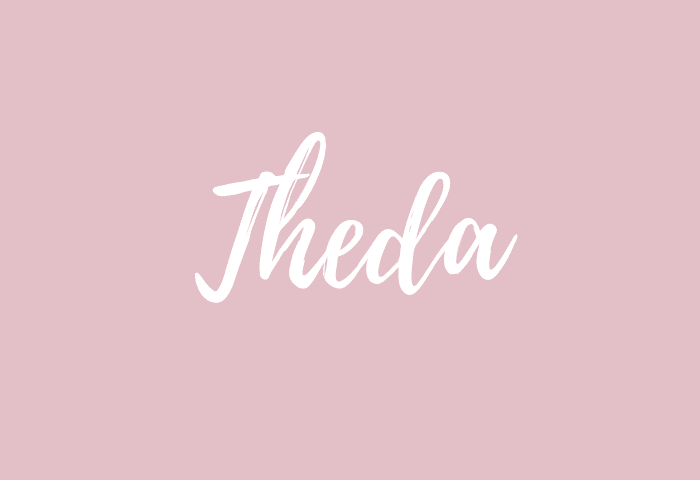theda name meaning