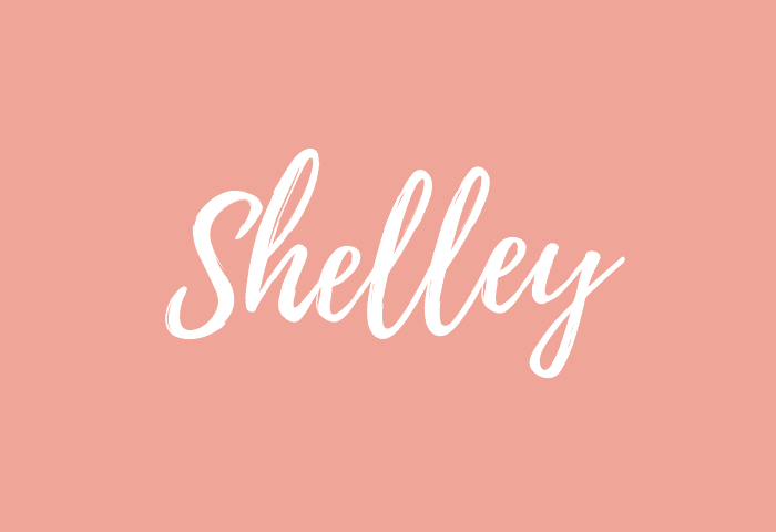 Shelley name meaning