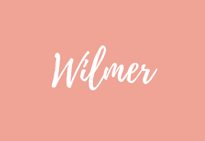 Wilmer name meaning