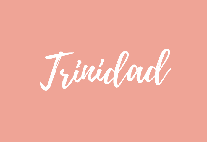 Trinidad name meaning