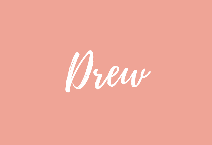 drew name meaning