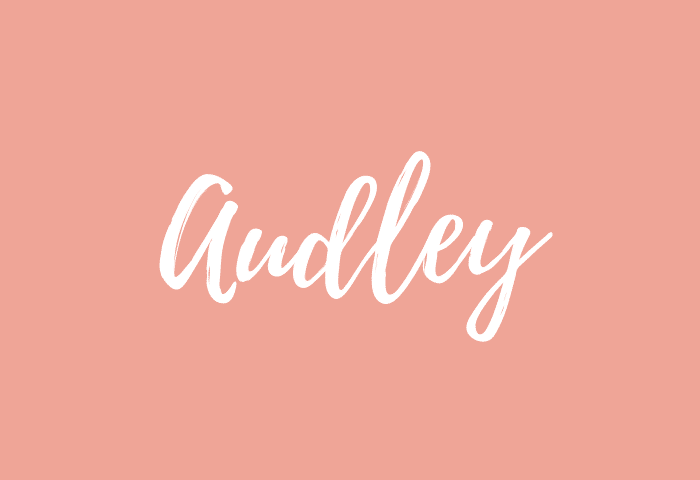 Audley name meaning