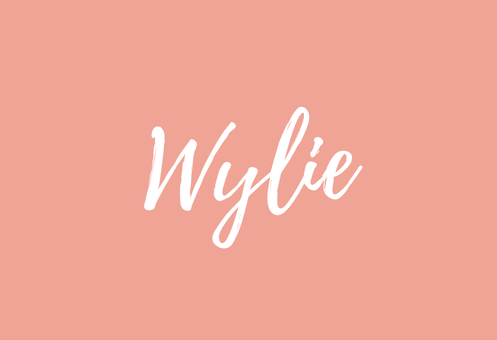 wylie name meaning