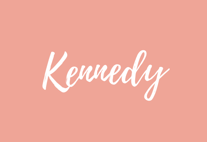 kennedy name meaning