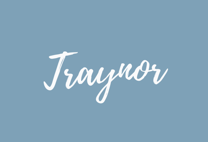 traynor name meaning