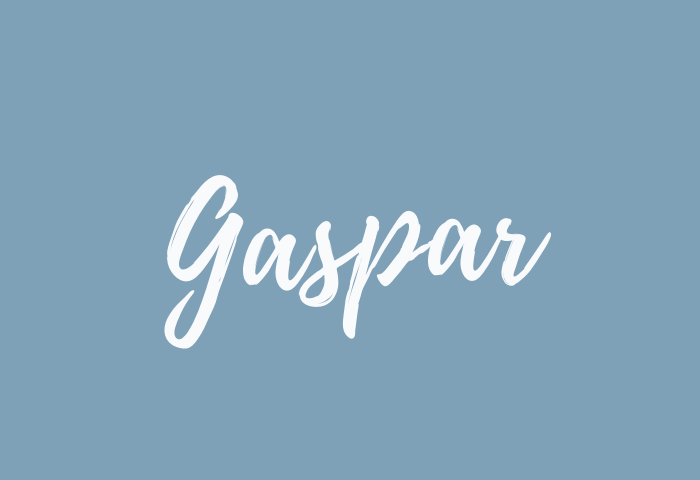 Gaspar name meaning