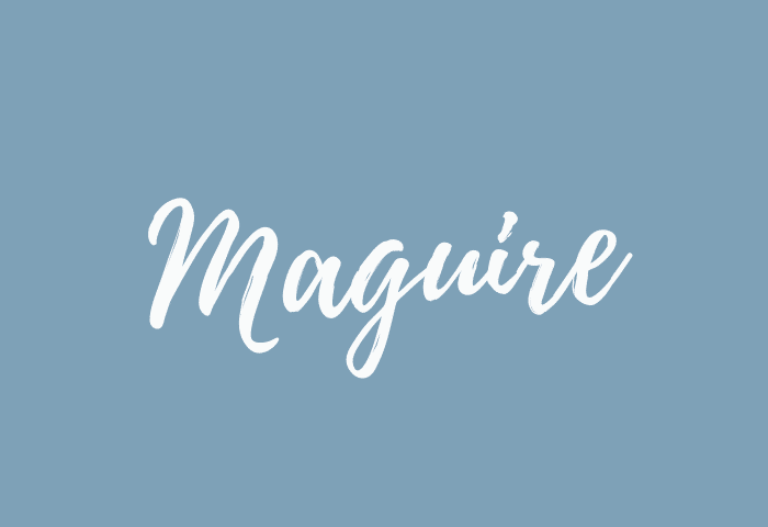 Maguire name meaning