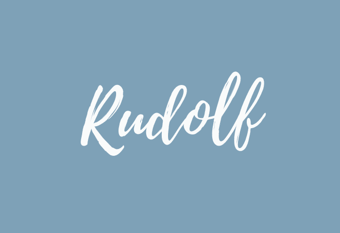 Rudolf name meaning