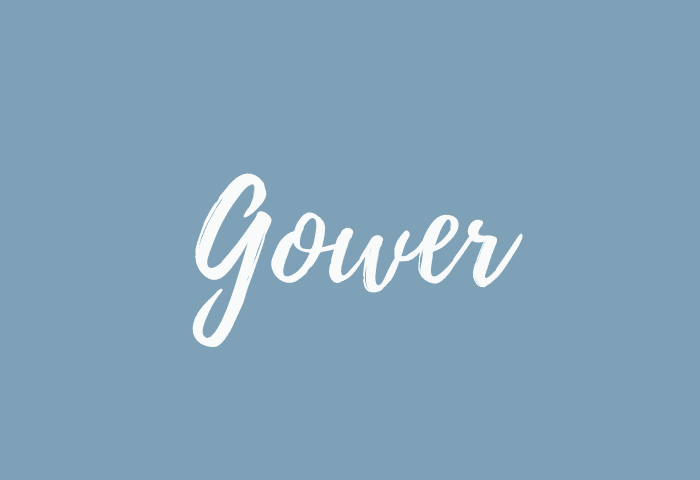 Gower name meaning