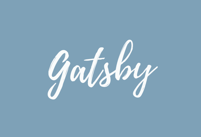 Gatsby name meaning