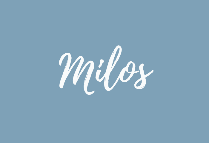 Milos name meaning
