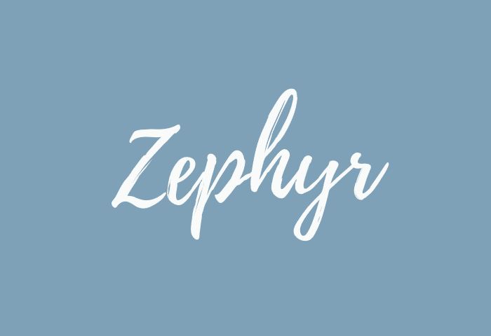 zephyr name meaning