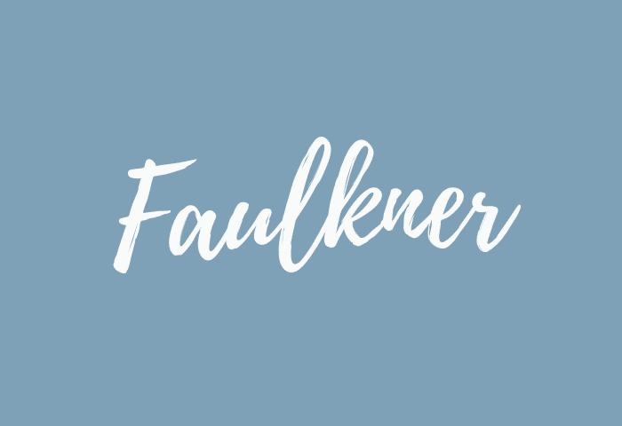 Faulkner name meaning