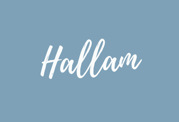 Hallam name meaning