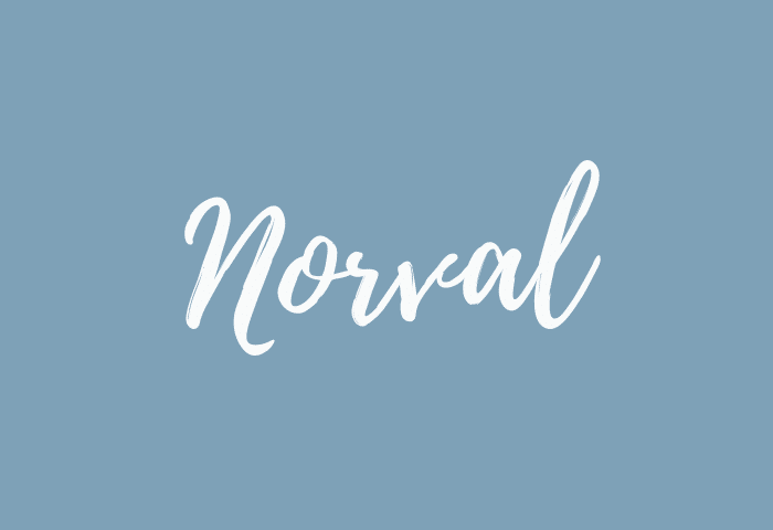 Norval name meaning