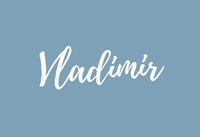 Vladimir name meaning