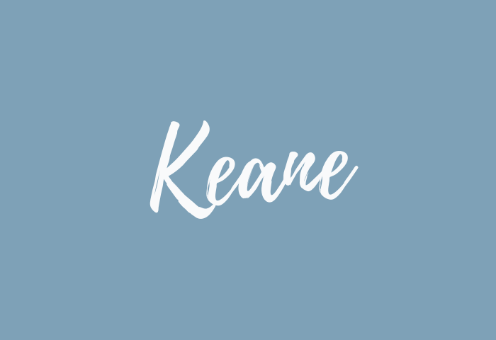 keane name meaning