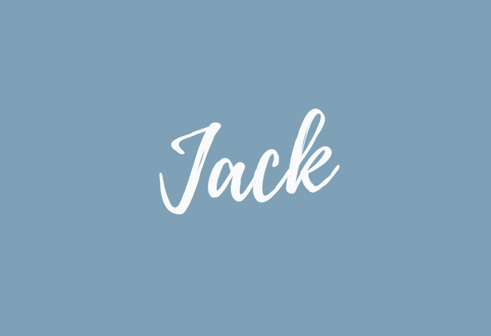 Jack Name Meaning